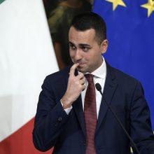 Italija kaltina Prancūziją išnaudojant Afriką