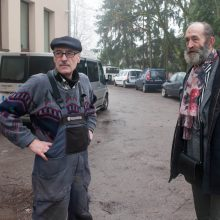 Susitiko: Olegas <span style=color:red;>(kairėje)</span> ir Kostas vėl pasimatė tik po 27 metų.