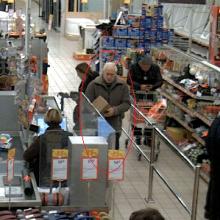 Policija tiria, kas atsiskaitė netikra 500 eurų kupiūra <span style=color:red;>(gal atpažįstate?)</span>