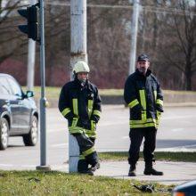 Per avariją Prienų rajone nukentėjo šeši rusai