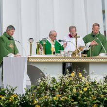 Kauno arkivyskupas po Šventojo Tėvo vizito: visiems nuoširdžiai dėkoju
