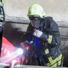 Gaisras Radviliškio rajone nusinešė žmogaus gyvybę