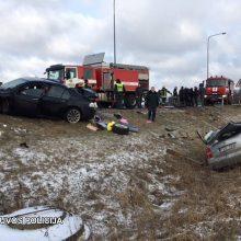 Drama Panevėžio rajone: avariją sukėlė vogtu BMW sprukęs vairuotojas