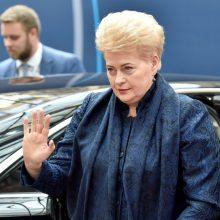 Artėjantys prezidento rinkimai vyks D. Grybauskaitės šešėlyje