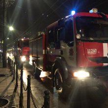 Sumaištį Kauno centre sukėlė nelaimių virtinė prasidėjus piko valandoms