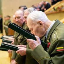 Apdovanotų partizanų likimai: per plauką išvengus mirties, laukė tremtis, badas