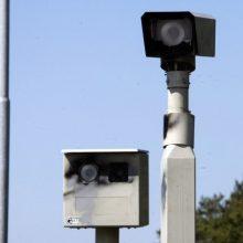 Greičio mėgėjų laukia baudos: nuo rugsėjo 1-osios veiks vidutinio greičio matuokliai