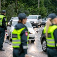 Policininkų laimikis – girtas vairuotojas, neturintis teisių