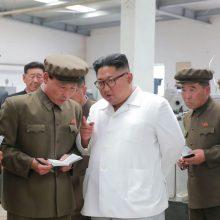 JAV: Šiaurės Korėja tebegamina skiliąsias medžiagas