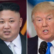 Šiaurės Korėjos lyderio ir D. Trumpo susitikimas birželį: įvyks ar ne?