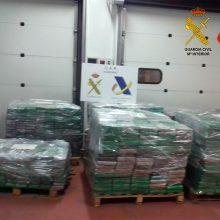 Muitininkai aptiko į Austriją keliavusią rekordinę 23 mln. eurų vertės heroino siuntą