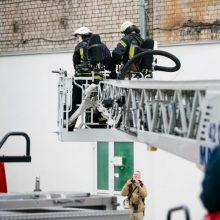 Už ugniagesių vaikymą kaunietei gresia tūkstantinė bauda