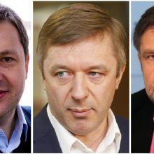 Turtingiausi vieši asmenys – A. Guoga, V. Martikonis ir R. Karbauskis