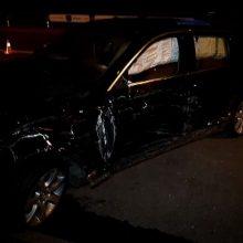 Panevėžyje BMW sukėlė masinę avariją, yra sužalotų