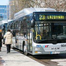 Sostinės viešojo transporto vairuotojai streikų neatsisakys