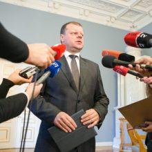 Socialdarbiečiai patvirtino – prezidento rinkimuose rems S. Skvernelį