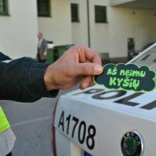 Kauno pareigūnų nesuviliojo ir 1 tūkst. eurų kyšis