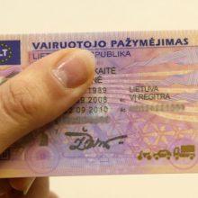 Seime – siūlymas vairuotojams vežiotis vieną dokumentą