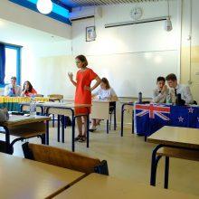 Galimybės: turnyruose kauniečiai debatuose dalyvauja anglų kalba.