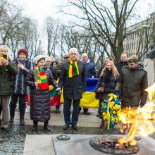 Muziejui – svečių iš Ukrainos dovana