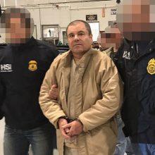 """Prasidėjo brangiausiu per visą JAV istoriją laikomas """"El Chapo"""" teismo procesas"""