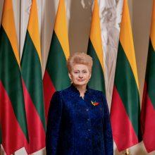 D. Grybauskaitė: mums pasisekė, kad tapome šios istorinės sukakties liudininkais