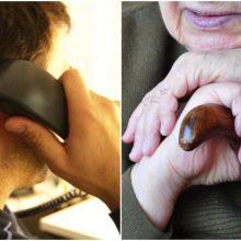 Senjorė pergudravo telefoninius sukčius: pasimokyti verta kiekvienam