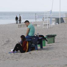 Vasaros sezonas baigėsi – uostamiesčio paplūdimiai tuštėja