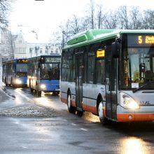 Nemokami autobusai mieste – tik per masines šventes