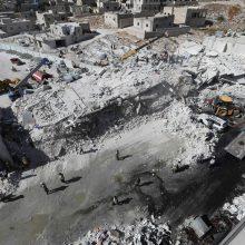 Tarp žuvusiųjų per sprogimą ginklų sandėlyje Sirijoje – vaikai