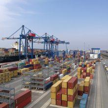 Klaipėdos uostas artėja prie 50 mln. tonų krovos