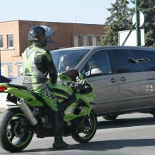 Vilniuje žuvo motociklininko partrenkta dviratininkė