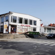 Uostamiestyje parduotuvę uždarė remontui