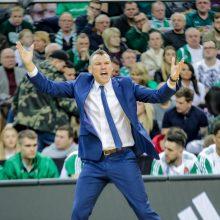 """Š. Jasikevičius prieš dvikovą su """"Bayern"""": tai yra kylanti Europos krepšinio jėga"""