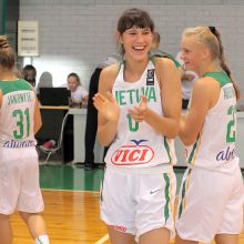 Krepšinio talentė tęsia šeimos tradicijas