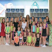Jaunosioms gimnastėms – meistriškumo pamokos