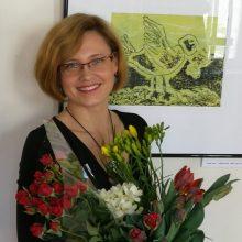 Latvių grafikė K. Beltė: lengvai pasiekiamas rezultatas man neįdomus