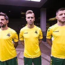 Pristatyta Lietuvos futbolo rinktinės sudėtis ir apranga