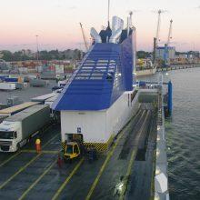 Jūrų keltai išliks svarbia uosto veikla