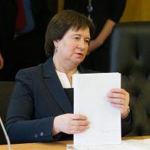 V. Baltraitienei Seimo komisijai teks aiškintis dėl produktų kokybės
