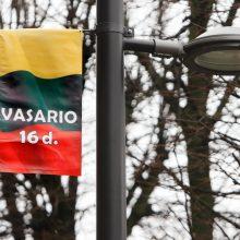 Vasario 16-ąją – eismo apribojimai K. Donelaičio gatvėje