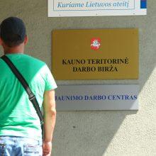Kauno regione – 24 tūkst. oficialių bedarbių