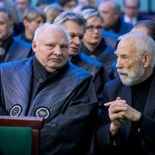 Inauguruotas naujasis KTU rektorius E. Valatka