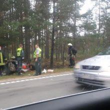 Avarija Varėnos rajone: nukentėjo du žmonės