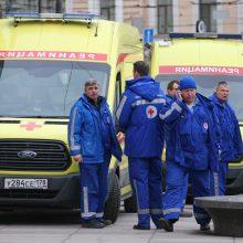 Fabrike prie Sankt Peterburgo driokstelėjo sprogimas, yra sužeistųjų