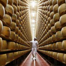 Europietiškų pieno gaminių eksportas pernai sumažėjo
