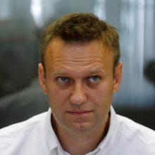 Rusijos nacionalinė gvardija neketina atsakyti į A. Navalno kreipimąsi