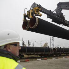 """M. Vestager: ES neturi teisinių galimybių sustabdyti """"Nord Stream 2"""""""