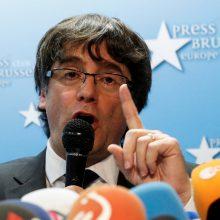 Atšaukti Katalonijos lyderiams išduoti Europos arešto orderiai