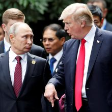 S. Lavrovas: V. Putinas pasiruošęs susitikti su D. Trumpu